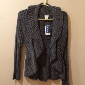 3 for $25 Gray knitted sweater